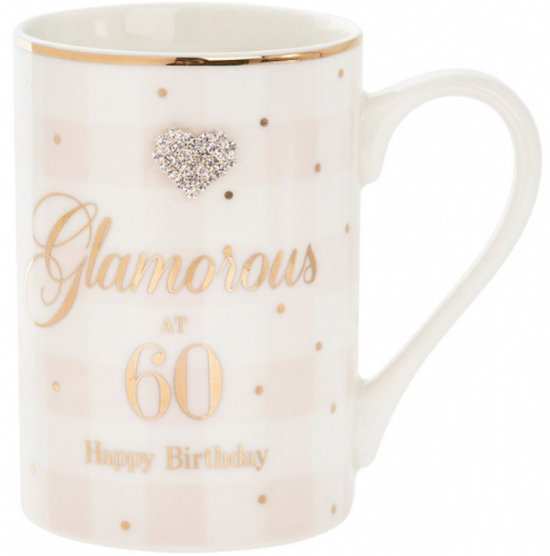 MAD DOTS 60TH BDAY MUG